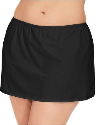 Macy's Island Escape Plus Size Swim Skirt, Created for