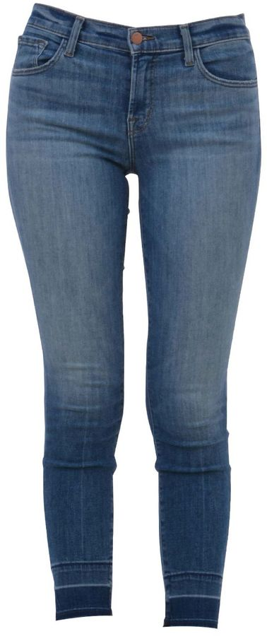 J BrandJ Brand Mid Rise Capri Jeans In Corrupted