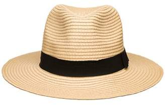 d7c3a2fb950e3 Pop Fashionwear Women s Wide Brim Fedora Hat Spring Summer 126SH