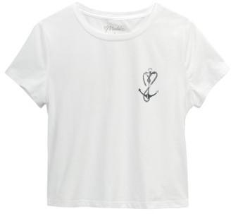 Girl's Maddie Crop Tee $32 thestylecure.com