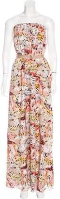 Mulberry Silk Printed Dress $175 thestylecure.com