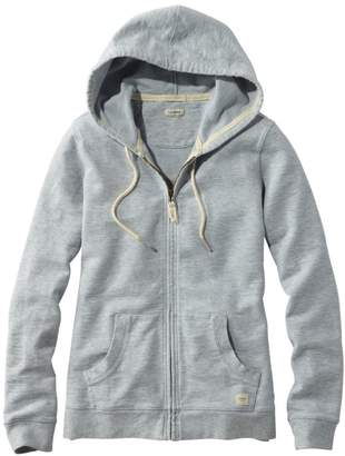 L.L. Bean L.L.Bean Women's Organic Cotton Hooded Sweatshirt, Long-Sleeve