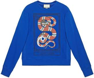 Gucci Cotton sweatshirt with planet