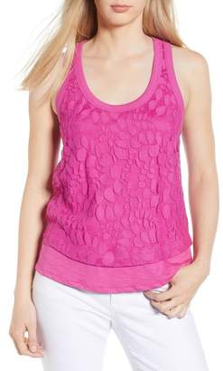 Gibson Racerback Lace Front Tank (Regular & Petite)