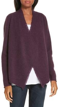Eileen Fisher Felted Merino Lambswool Cardigan