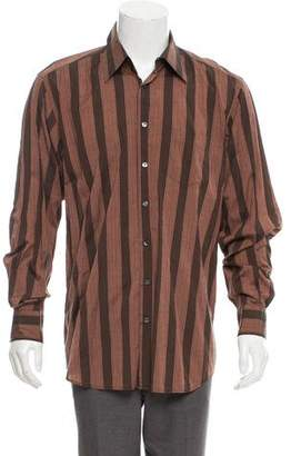 Dolce & Gabbana Striped Button-Up Shirt