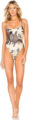 MinkPink Golden Safari One Piece