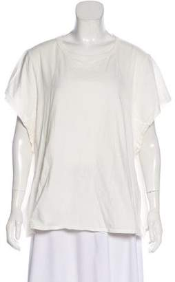 Chloé Oversize Short Sleeve Top