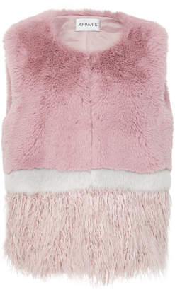 Apparis Kate Faux Fur Vest