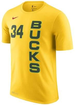Nike Giannis Antetokounmpo Milwaukee Bucks City Edition Dri-FIT Men's NBA T-Shirt
