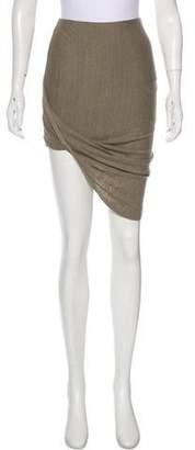 Pam & Gela Asymmetrical Knee-Length Skirt