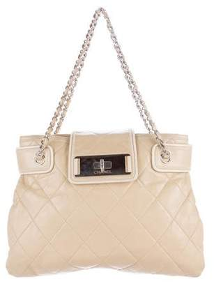 Chanel Quilted East West Tote