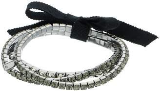 Vera Wang Simply Vera Simulated Crystal Stretch Bracelet Set