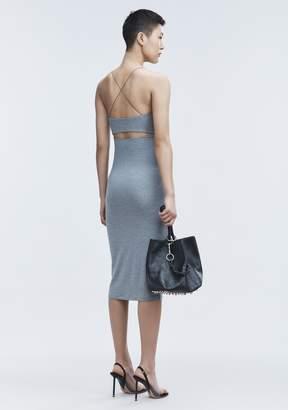 Alexander Wang Cut Out Modal Cami Dress