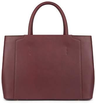 LUXTRA - Rosa Classic Handbag Burgundy
