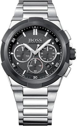 HUGO BOSS 1513359 supernova stainless steel watch $395 thestylecure.com