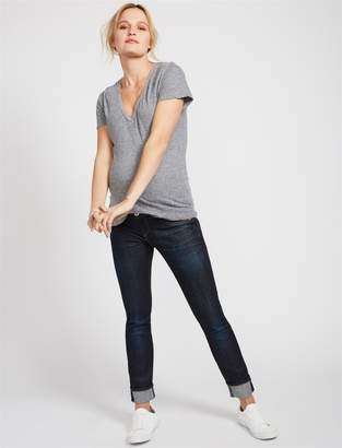 Rag & Bone Pea Collection Slim Boyfriend Maternity Jeans