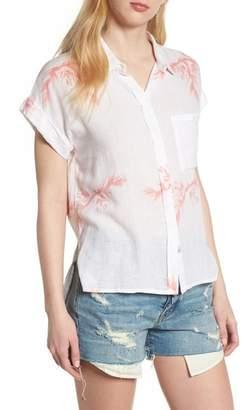 Rails Whitney Birds of Paradise Linen Blend Shirt