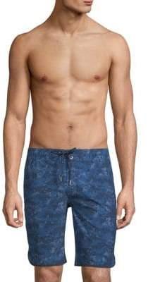 2xist Camo-Print Board Shorts