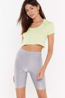 Nasty Gal Baby Got Back Biker Shorts