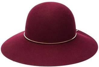 Lanvin logo capeline hat