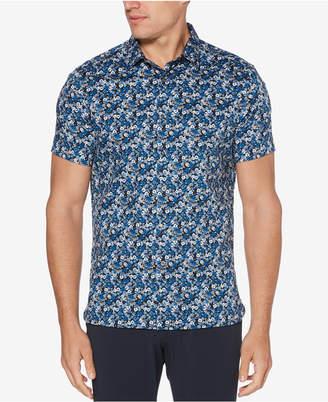 Perry Ellis Men's Mini-Floral Shirt
