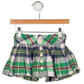 Ralph Lauren Girls' Plaid A-Line Skirt