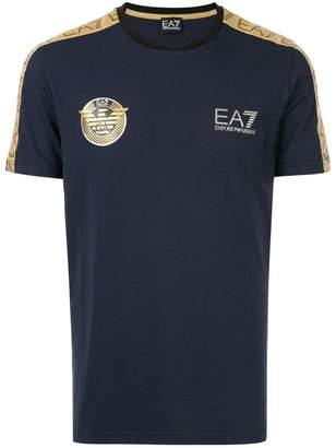 Emporio Armani Ea7 Soccer Archive Tape T-shirt