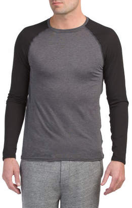 Micro Active Crew Neck Baselayer Top
