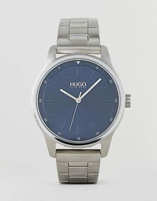 HUGO 1530020 Dare bracelet strap watch in silver