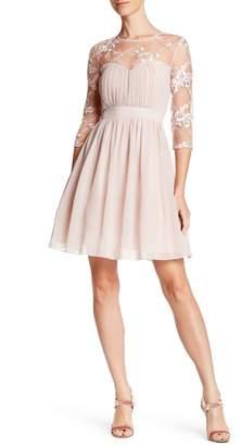 London Dress Company Lisa Lace Panel Dress