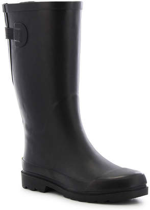 Western Chief Womens Solid Rain Boots Waterproof Pull-on