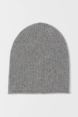 H&M Rib-knit Cashmere Hat