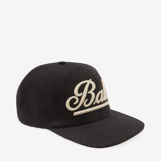 Bally Swoosh Embroidered Baseball Cap