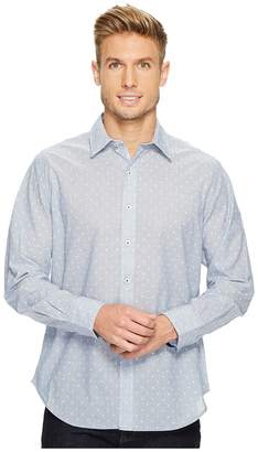 Robert Graham Dogtown Long Sleeve Band Collar Shirt Men's Long Sleeve Pullover