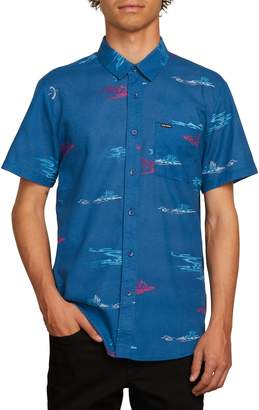 Volcom Sub Phase Patterned Woven Shirt