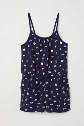 H&M Jersey Jumpsuit - Blue