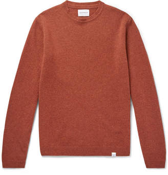 Norse Projects Sigfried Brushed-Wool Sweater