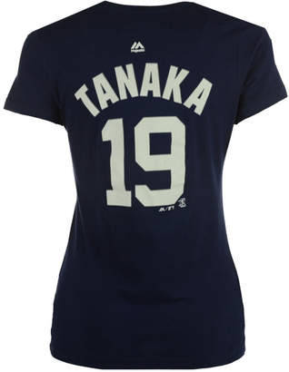 Majestic Women's Masahiro Tanaka New York Yankees Crew Player T-Shirt