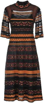 M Missoni 3/4 length dresses