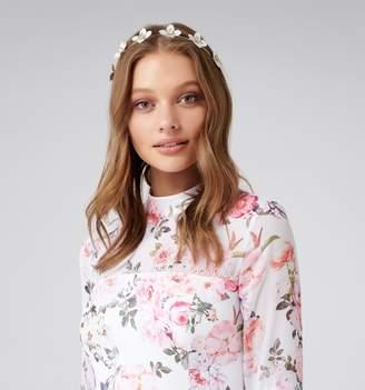 Forever New Camille Coated Flower Headband