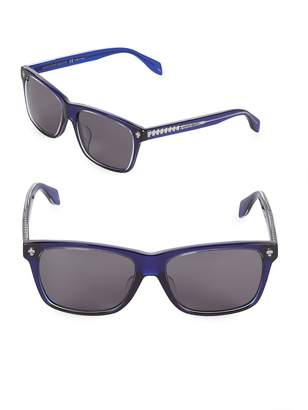 Alexander McQueen Women's 57MM Rectangle Sunglasses