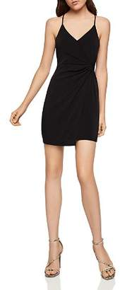 BCBGeneration Sleeveless Twist-Front Surplice Dress