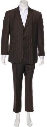 Kenzo Striped Wool Suit