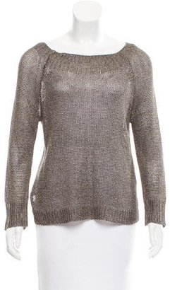 Brochu Walker Nash Linen Sweater w/ Tags $75 thestylecure.com