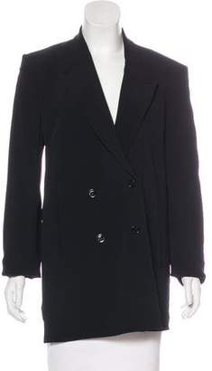 CNC Costume National Structured Double-Breasted Blazer