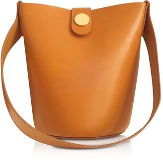 Sophie Hulme Shiny Saddle Leather Nano Swing Bag