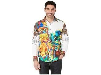Robert Graham The Yaki Warrior Limited Edition Long Sleeve Woven Shirt