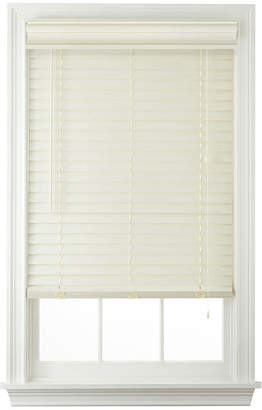 JCPenney JCP HOME HomeTM Cut-to-Width 2 Faux-Wood Horizontal Blinds
