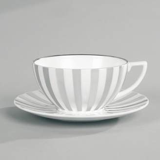 "Jasper Conran Wedgwood at Wedgwood ""Platinum Stripe"" Tea Cup"